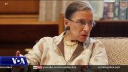 Amerikanët nderojnë gjyqtaren Ginsburg