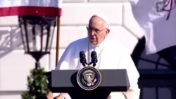 Pope Francis Hits on Immigration, Climate Change At White House Welcome