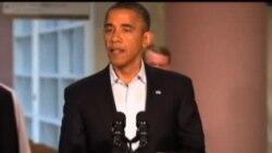 奥巴马总统慰问枪击案幸存者和难属