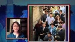 VOA连线:谢长廷大陆之行在台湾激起的反应