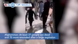 VOA60 World - Shiite Mosque Blast Kills Dozens in Afghanistan's Kandahar