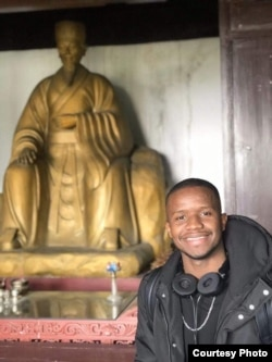 Wagner Pereira from Cape Verde, 26, is a master student of computer science at Huazhong University of Science and Technology.