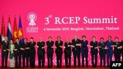Regional Comprehensive Economic Partnership RCEP – merupakan blok perdagangan bebas terbesar di dunia (foto: ilustrasi).