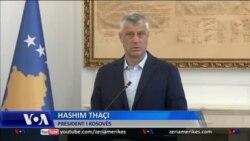 Thaçi, thirrje për bashkim të partive politike në bisedimet me Serbinë