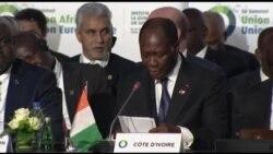 Alassane Ouattara fait un plaidoyer pour les jeunes Africains à l'ouverture du 5e sommet Europe-Afrique