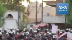 Caricatures: manifestation des pro-Iran devant l'ambassade de France à Bagdad