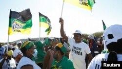 Abasekeli bayengumongameli wele South Africa uMnu. Jacob Zuma, eNkandla, kwele South Africa.