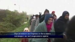Предизвиците и реакцијата на Европа со кризата со мигрантите