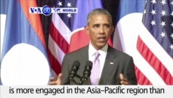 VOA60 World - Obama Makes Case for Asia-Pacific Re-balance in Laos