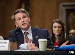 FILE - Thomas Countryman, then-assistant secretary of state for international security and nonproliferation, speaks during a hearing on Capitol Hill, Dec. 17, 2015.