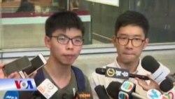 Joshua Wong bị câu lưu tại sân bay Thái Lan
