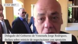 Reinicio del diálogo entre Gobierno y oposición de Venezuela