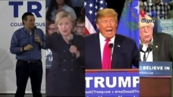 Presidential Contenders Make Final Push for Votes in Iowa