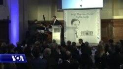 """Senatori McCain nderohet me Çmimin """"Magnitsky"""" për të drejtat e njeriut"""