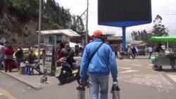 Un paso cada vez más lejanopara venezolanos en Rumichaca