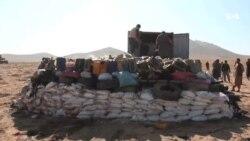 حریق ۶۱ تُن مواد مخدر در هرات