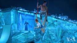 走进美国:太阳剧团的冰上特技表演
