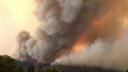 Пожари низ западниот дел од Соединетите Држави