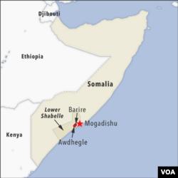 Awdhegle and Barire, Somalia
