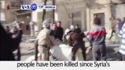 VOA60 World PM - Syria War Death Toll Reaches 470,000