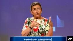 Margrethe Vestager, Komisaris Antimonopoli Uni Eropa