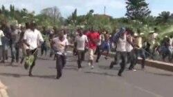 Joie dans Bujumbura apres l'annonce de la destitution de Pierre Nkurunziza