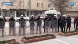 Leyla Güven'e Destek Yürüyüşüne Polis Engeli