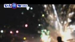 Đổ bệ đỡ pháo hoa tại California, 28 người bị thương