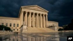 Gedung Mahkamah Agung AS di Washington.