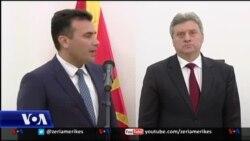 Zaev merr mandatin për formimin e qeverisë