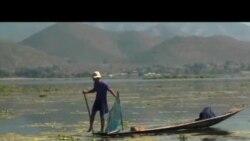 旅游和开发威胁缅甸湖泊