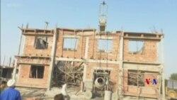 2018-10-15 美國之音視頻新聞: 印度建築物屋頂倒塌造成至少3死15傷