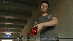 دانشجوی اسپانیایی با اسباببازی لگو بازوی رباتیک ساخت
