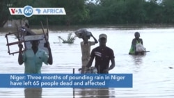 VOA60 Afrikaa - Three months of pounding rain in Niger have left 65 people dead and affected nearly 330,000