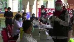 หมอ-พยาบาลอินโดฯนับร้อยติดโควิด-19 แม้ได้วัคซีนครบแล้ว