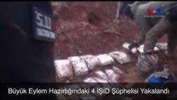 Büyük Eylem Hazırlığındaki 4 IŞİD Şüphelisi Yakalandı