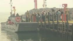 澳洲海軍繼續疏散山火災民
