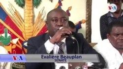 Senatè Evalière Beauplan Di Opozisyon Politik la Gen yon Sèl Randevou ak Prezidan Jovenel Moïse