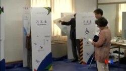 2014-06-04 美國之音視頻新聞: 南韓執政黨將在地方選舉中經受考驗