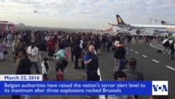Explosions Rock Belgium Airport