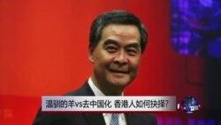 时事大家谈:温驯的羊vs去中国化,香港人如何抉择?