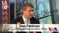 Cafe DC: Special Representative for Afghanistan and Pakistan Dan Feldman