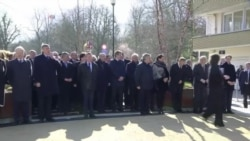 Bruxelles rend hommage aux victimes de l'attaque du 22 mars 2016 (vidéo)
