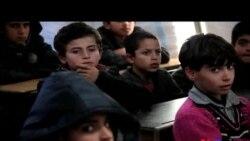 Suriyalı qaçqın uşaqların təhsil problemləri