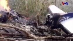 Kosta Rika'daki Uçak Kazasında 10'u Amerikalı 12 Kişi Öldü