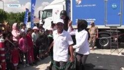 Mülteci Kampındaki Çocuklara Atla Terapi