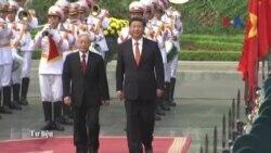 Chủ tịch Trung Quốc chúc mừng ông Nguyễn Phú Trọng