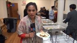 Buka Puasa Komunitas Muslim di New York