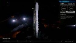 VAO英语视频:美民间太空公司成功为政府发射秘密卫星