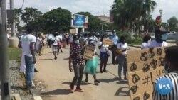 """Manifestação """"Luanda Lixada"""" na capital de Angola"""